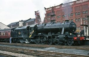 Graham Farish 372-163DS BR Class 8F, Late Crest, Black Livery, DCC SOUND [NOT YET RELEASED]